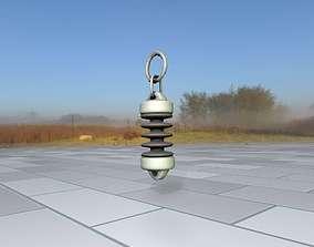 3D asset Electricity Poles Insulator 6 - Object