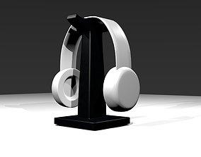 electronics 3D model Headset