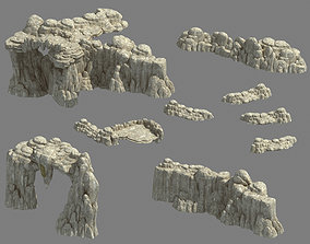 3D Kunlun Mountains - Mountain 03