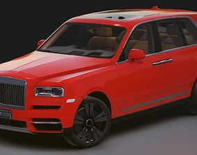 Realistic Mobile Car 07 Rolls-Royce Cullinan 3D model