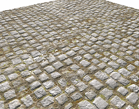Cobblestone Road 9 PBR 3D model