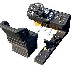 Truck Console 3D Model