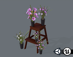 realtime PBR Nature Assets - Flower Decorations