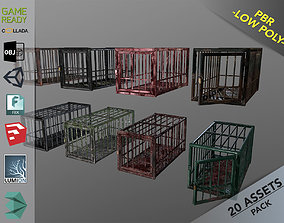 Animal Cage 3D model