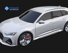 E3D - 2020 Audi RS6 Avant