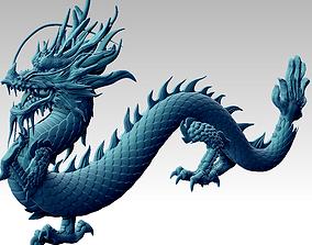 3D print model a dragon