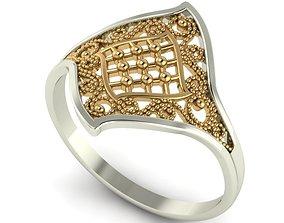 Mesh ring model for 3D printing