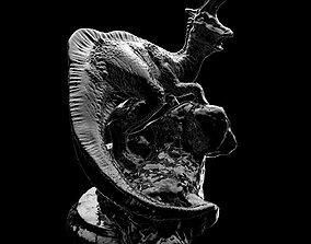 Lambeosaurus Chess Piece Bishop 3D print model