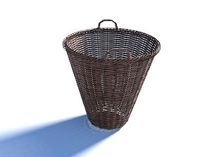 picnic Wicker Basket 3D