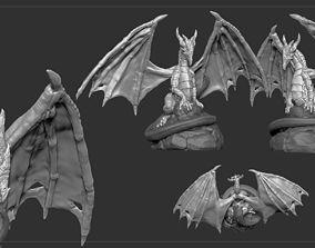 3D print model Dragon Character