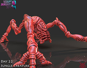 Space Insect Creature Timelapse and Model