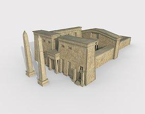 Egypt Temple 01 3D model