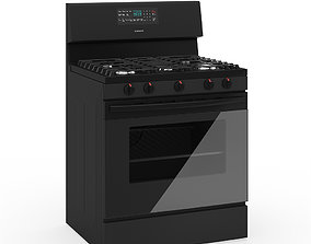 Freestanding Gas Oven 3D