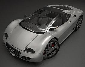 Audi R9 Prototype Car 3D