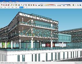3D Sketchup Museum 124