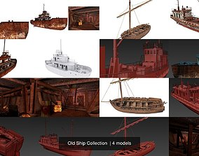 3D model Old Ship Collection old