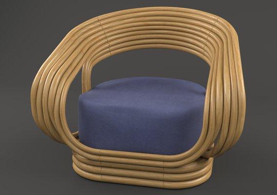 Rattan Chair-Atlas