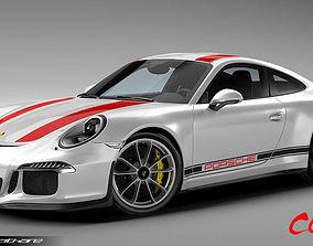 3D Porsche 911 R 2017