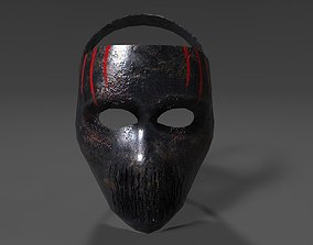 3D Death Mask no textures