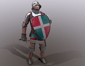 TAB Medieval Knight - 5 3D asset