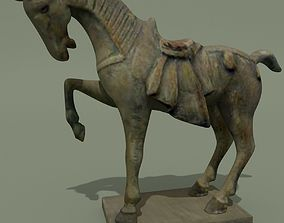 mare Horse Statuette H 3D