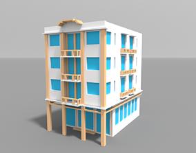 3D model Voxel Miami Hotel 8