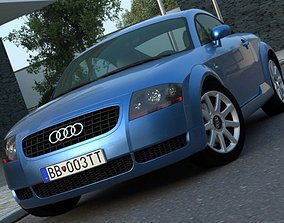 Audi TT 2003 3D