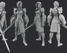 woman Warrior 3D