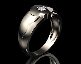 Mens Ring various 3D print model