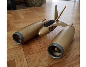 3D print model Spaceship Pod Racer Wipeout Ship