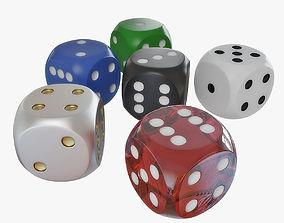 3D dice 01