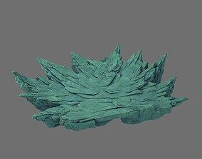 3D Broken crests - terrain stones