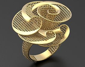 Ultra vision Ring STL 3d model for 3d printing 0009