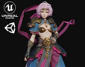 3D model Sun Girl
