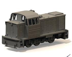 Soviet locomotive TGM23 3D printable model