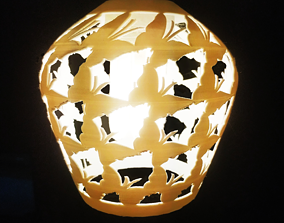 butterfly lamp shade 3D print model