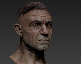 zbrush Old Man 3D