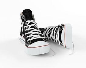 Converse All-Star Shoes 3D model