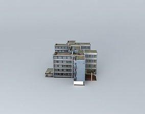 Mezgaz College 3D model