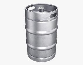 Beer keg 50L 3D