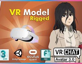 Pieck AOT VRChat Oculus Quest 3D asset