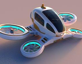3D asset Passenger Drone