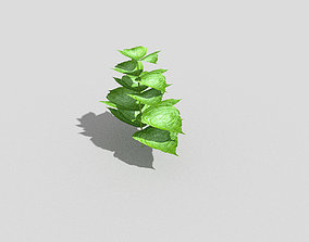 game 3D model low-poly Low poly Plant