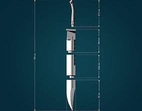 Pyramid Head Sword from Silent Hill 3D print model