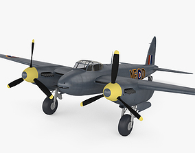 de Havilland DH 98 Mosquito FB MK VI 3D model