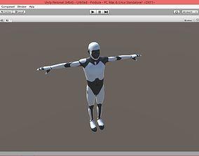 3D asset Space Man