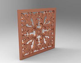 houseware 3d wall decor panel 3D print model