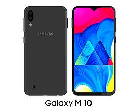 3D model Samsung Galaxy M10 Black