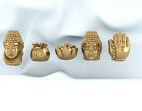 3D print model Budha charm pandora