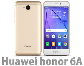 Honor 6A Gold 3D model